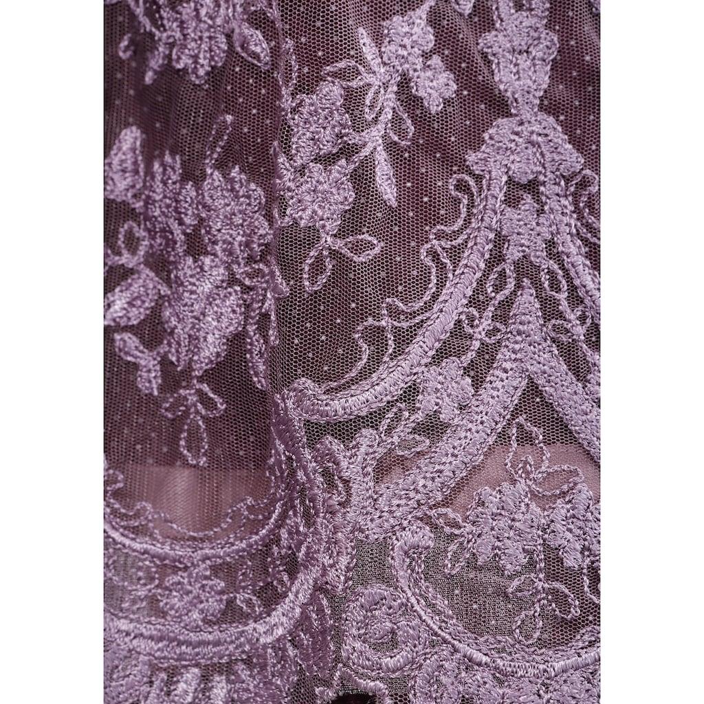 MarJo Dirndl, (2 tlg.), kurz mit transparenter Tüllschürze