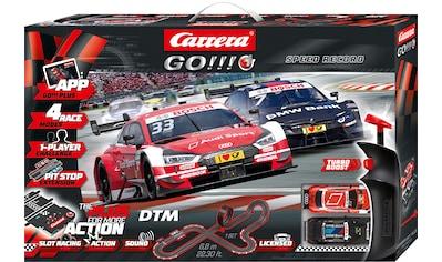 """Carrera® Autorennbahn """"Carrera® Go!!! Plus  -  DTM Speed Record"""", (Streckenlänge 6,8 m) kaufen"""
