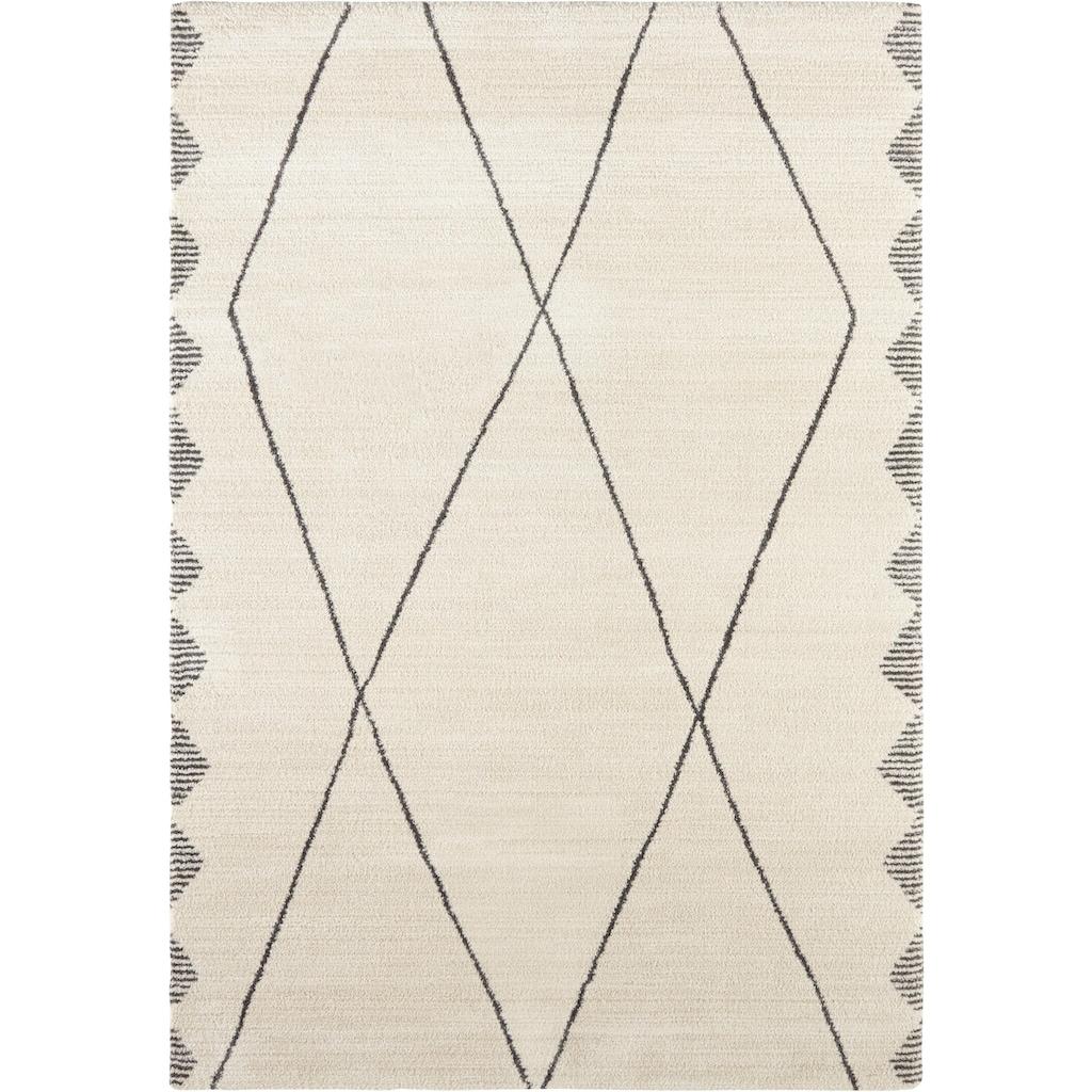 ELLE Decor Teppich »Beaune«, rechteckig, 14 mm Höhe, Wohnzimmer