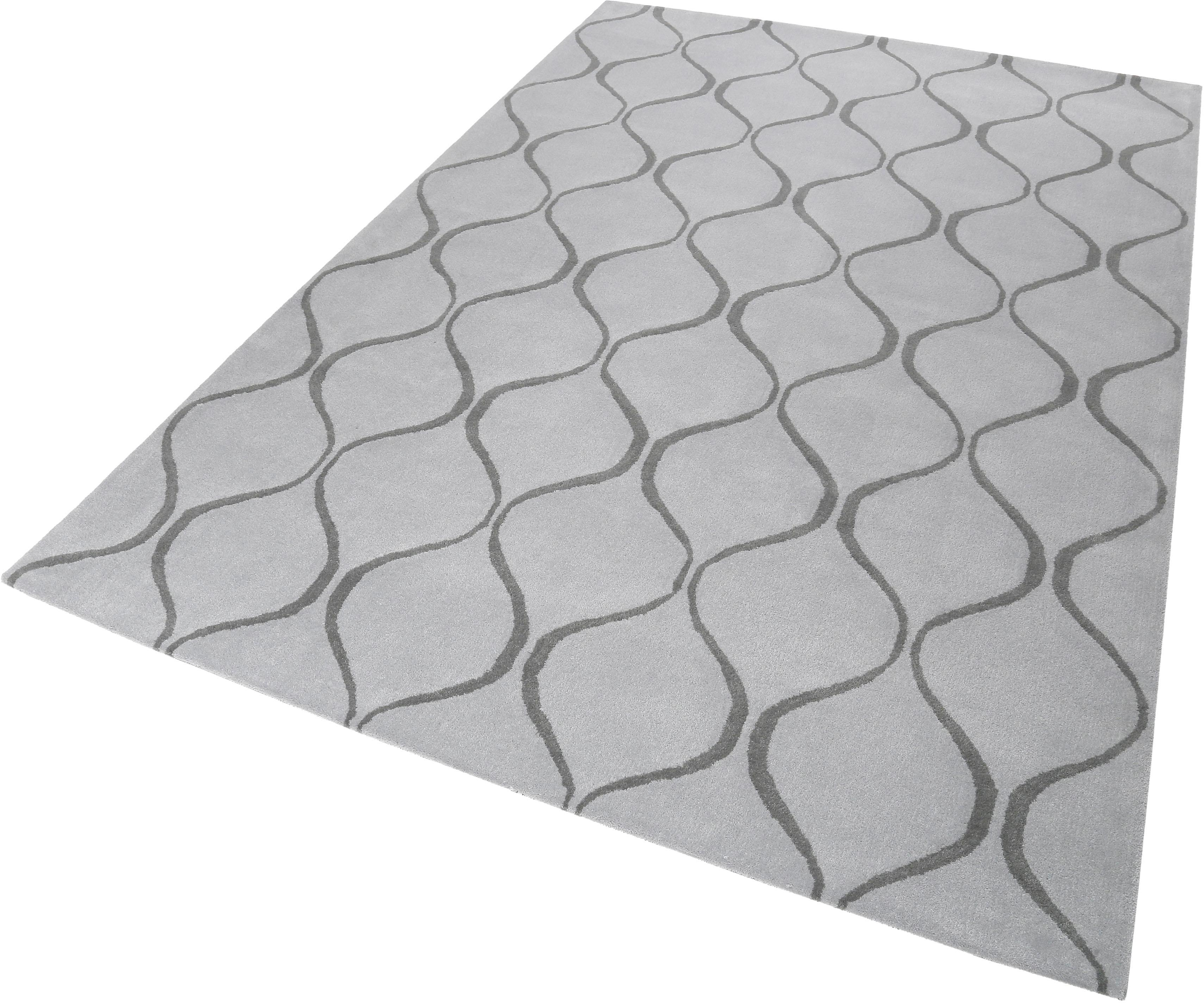 Wollteppich Aramis Esprit rechteckig Höhe 10 mm handgetuftet