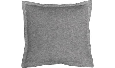 Kissenbezug, »Melange Uni«, Schlafgut kaufen