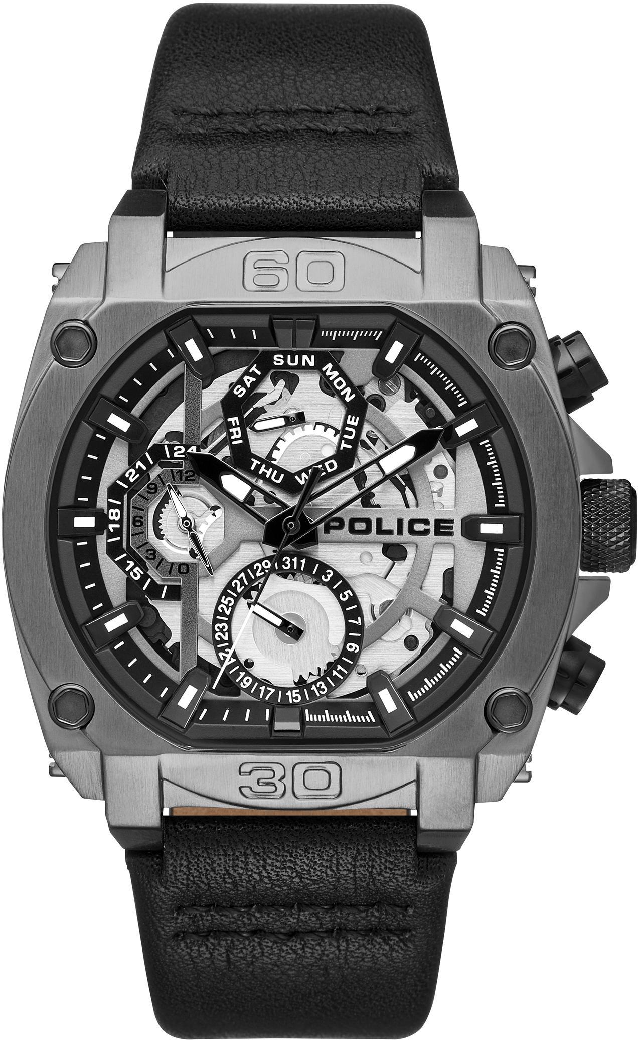 Police Multifunktionsuhr NORWOOD, PL15472JSU.61   Uhren > Multifunktionsuhren   Police