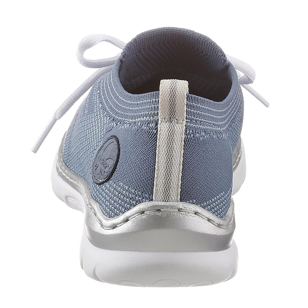 Rieker Slip-On Sneaker, mit sockenähnlichem Einschlupf