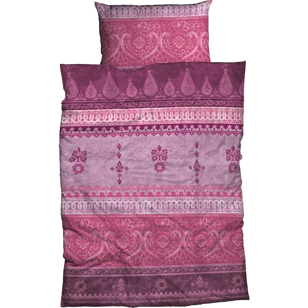 CASATEX Bettwäsche »Indi«, trendige Ornamente