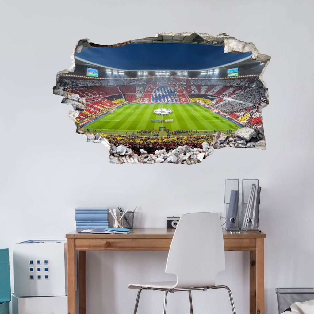 Wall-Art Wandtattoo »FCB Stadion Immer weiter«