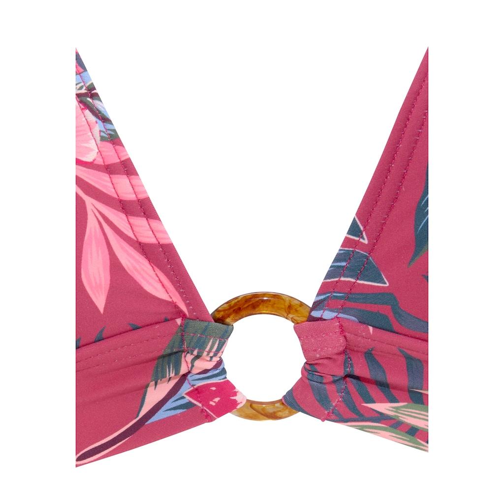 s.Oliver Triangel-Bikini-Top »Marika«, mit Zierring