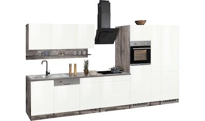 HELD MÖBEL Küchenzeile »Virginia«, mit E-Geräten, Breite 390 cm kaufen