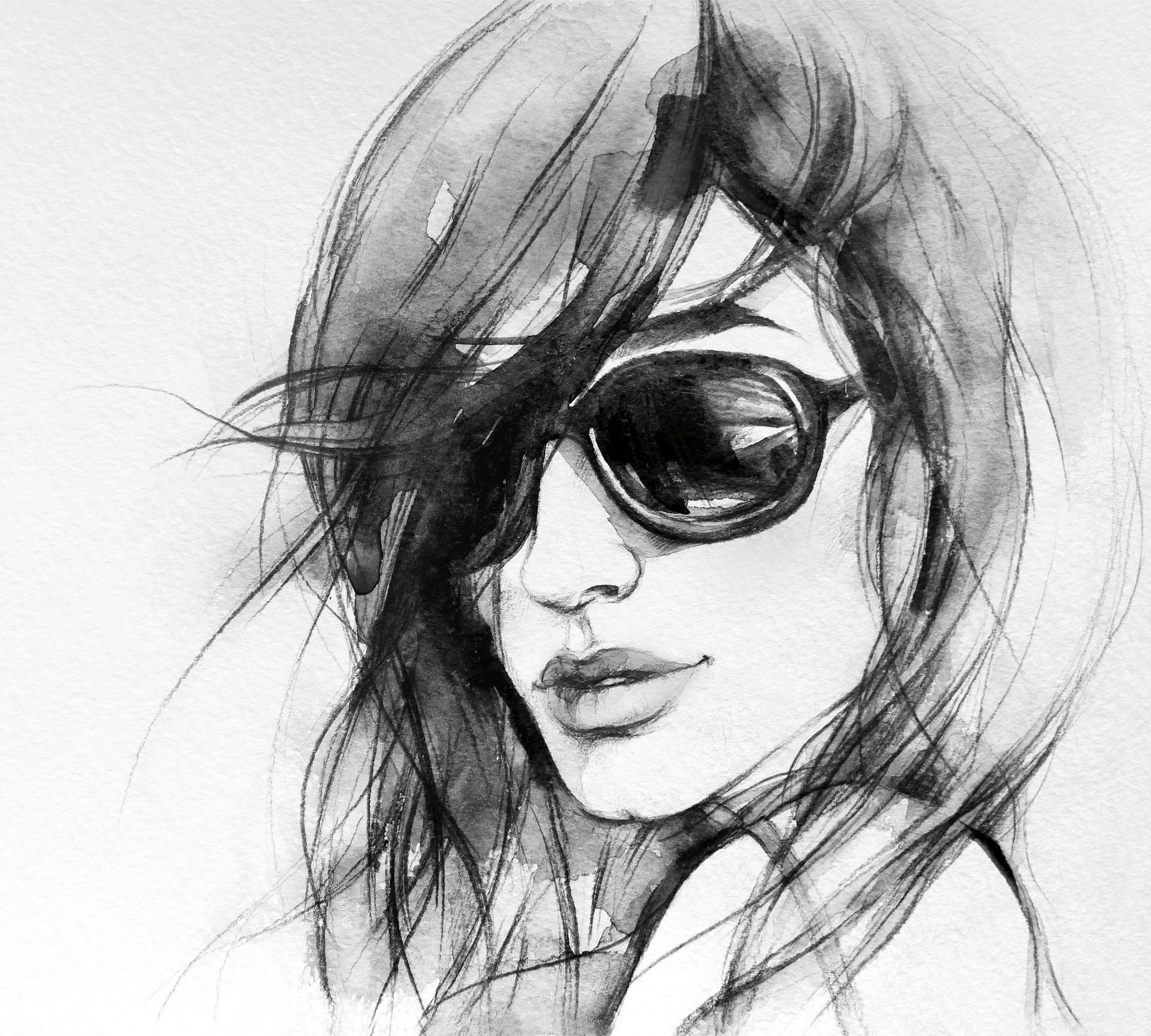 Vliestapete I wear my sunglasses Wohnen/Wohntextilien/Tapeten/Fototapeten/Fototapeten Natur