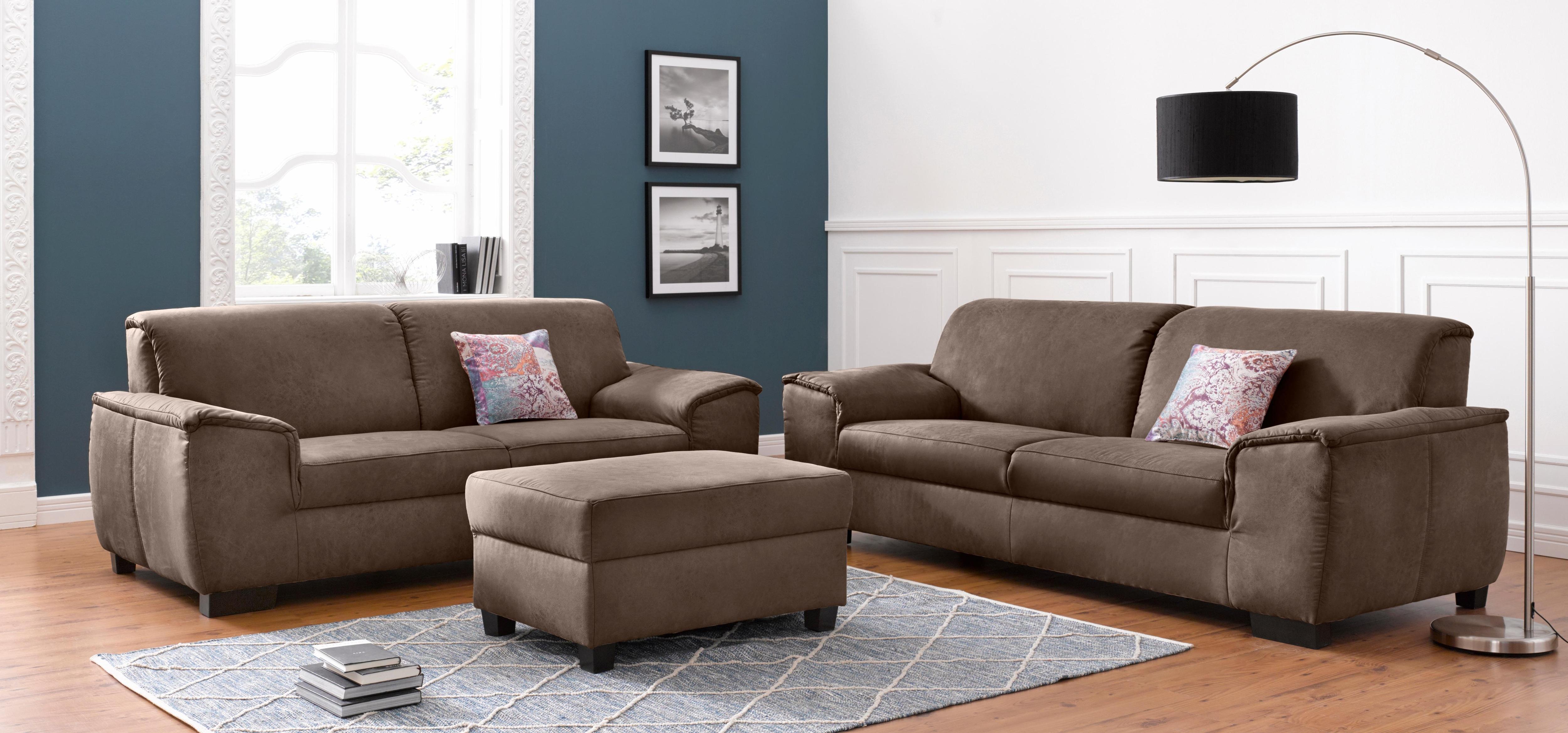 DOMO collection Garnitur: 2-Sitzer und 25-Sitzer