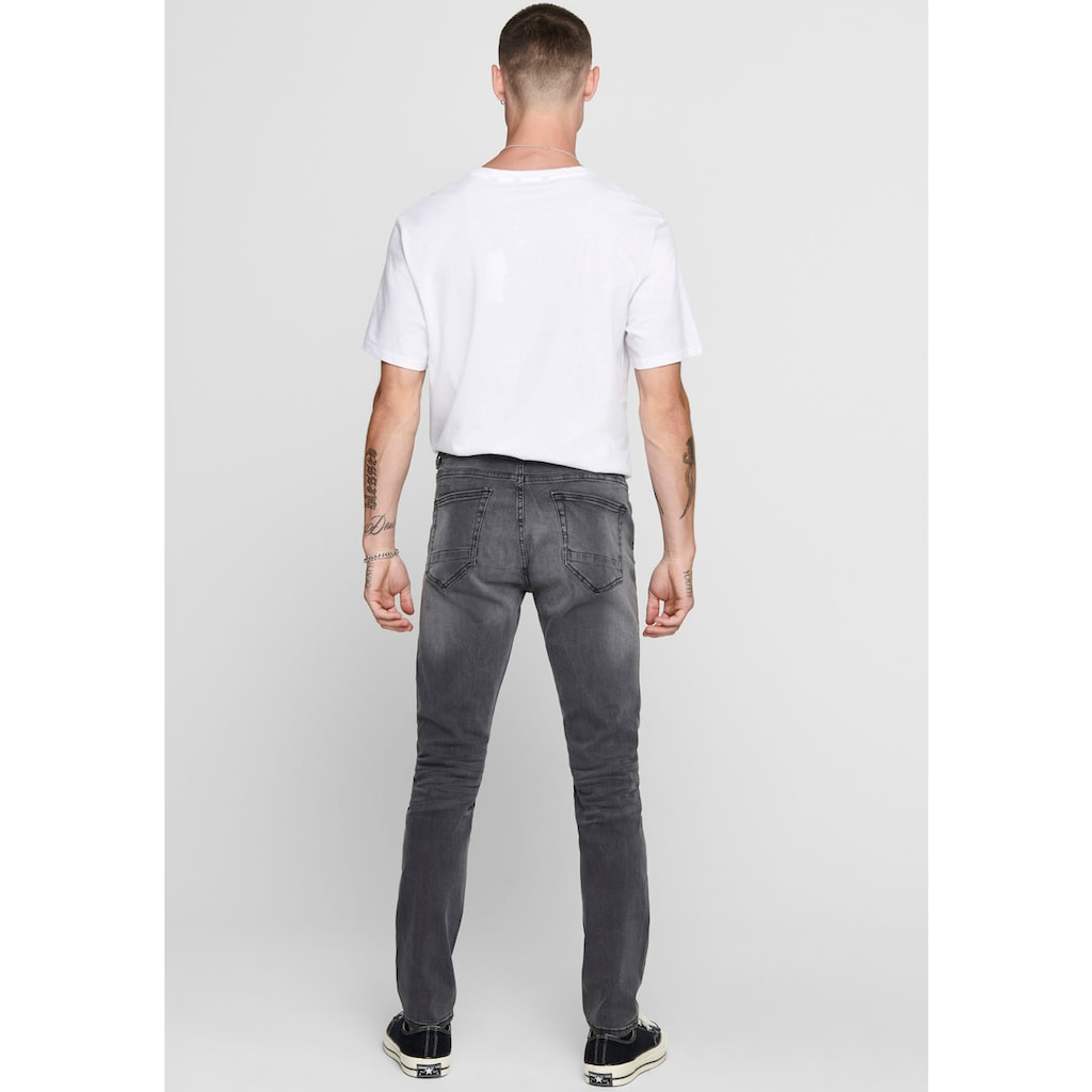 ONLY & SONS Skinny-fit-Jeans »Warp«