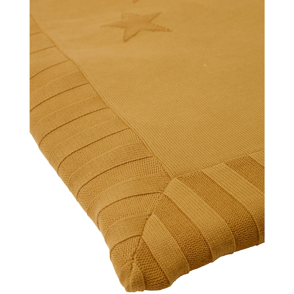 Sterntaler® Krabbeldecke »Sterne, gelb«