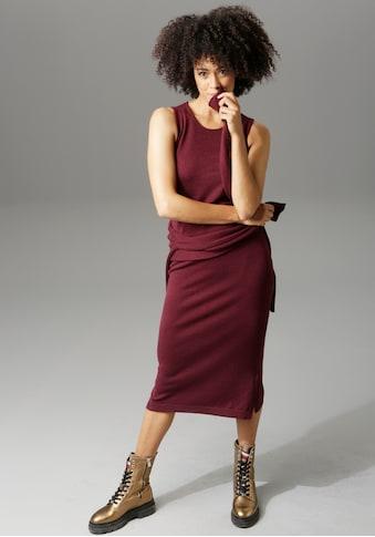 Aniston CASUAL Strickkleid »mit Pullover«, (2 tlg.), mit Seitenschlitzen kaufen
