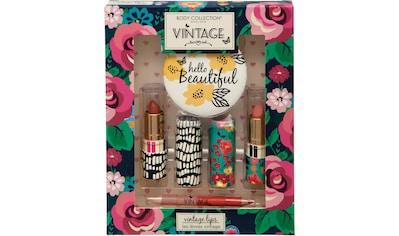 Lippenstift-Set »Vintage Lips«, (4 tlg.) kaufen