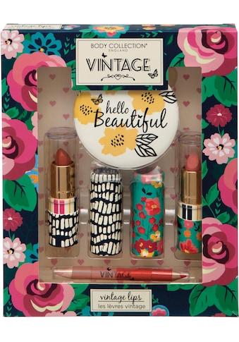 """Lippenstift - Set """"Vintage Lips"""", 4 - tlg. kaufen"""