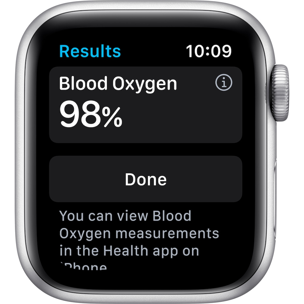 Apple Watch »Series 6 GPS + Cellular, Aluminiumgehäuse mit Sport Loop 40mm« (, Watch OS 6, inkl. Ladestation (magnetisches Ladekabel)