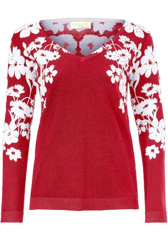 Alessa W. Pullover mit Blütendruck kaufen