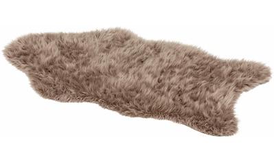 ASTRA Fellteppich »Mia«, fellförmig, 50 mm Höhe, Kunstfell, waschbar, Wohnzimmer kaufen