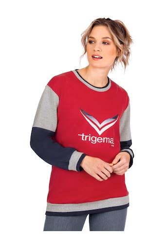 Trigema Sweatshirt mit TRIGEMA - Logo kaufen