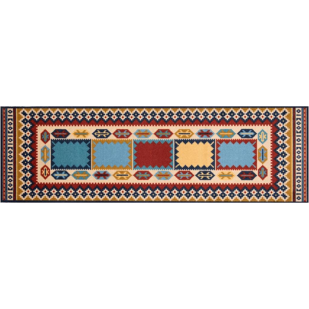 freundin Home Collection Läufer »Diara«, rechteckig, 5 mm Höhe, In- und Outdoor geeignet