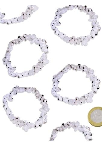Adelia´s Armband »Damen Schmuck Edelstein Regenbogenmondstein Armband bunt 19 cm« kaufen