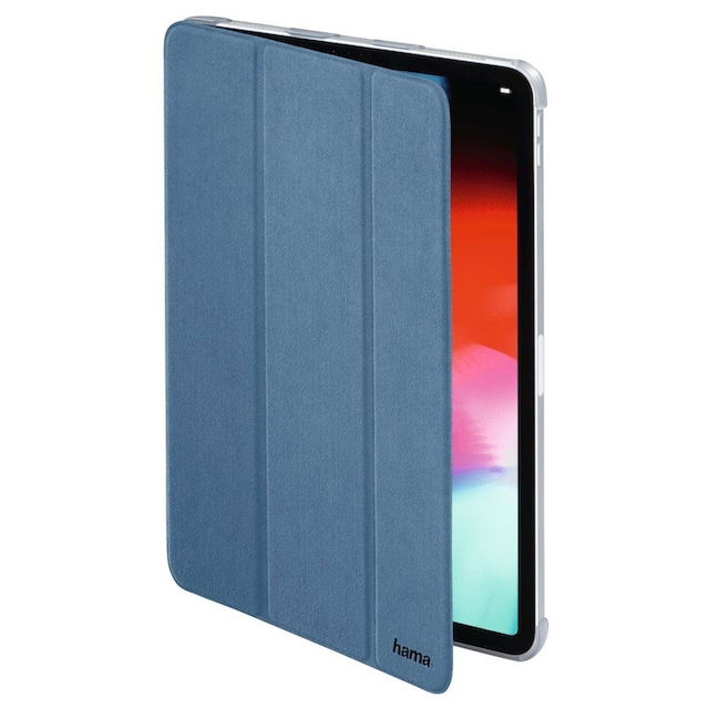 Hama Tablet-Case Suede Style für Apple iPad Pro 11, Hellblau