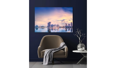 queence Acrylglasbild »Skyline London« kaufen