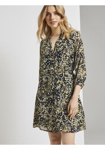 TOM TAILOR Chiffonkleid »Chiffon-Kleid mit Blumenprint« kaufen