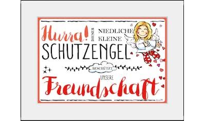 queence Bild »Schutzengel Freundschaft«, Engel, (1 St.) kaufen