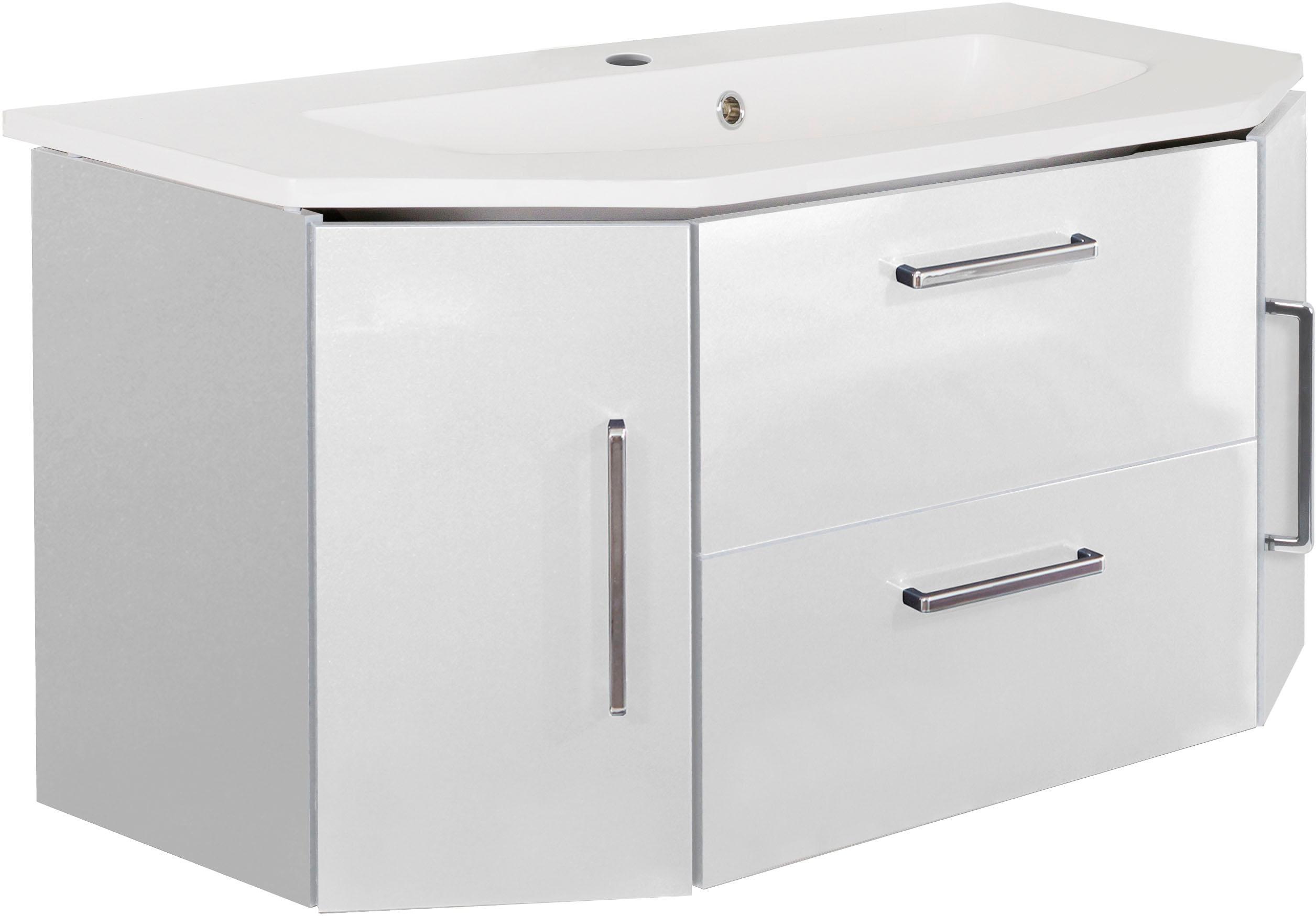 OPTIFIT Waschtisch, Ava weiß Waschtische Badmöbel