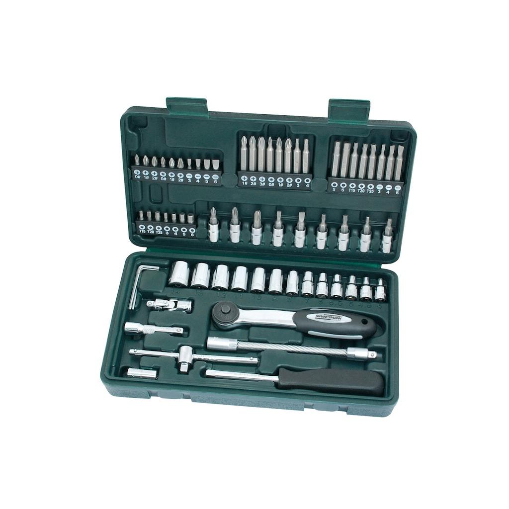 Brueder Mannesmann Werkzeuge Steckschlüsselsatz »(65-tlg.)«