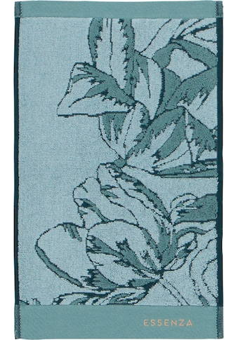 Essenza Gästehandtuch »Malou«, (3 St.), mit floralem Muster kaufen