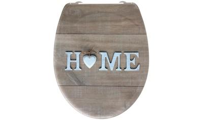 welltime WC-Sitz »Home«, hochwertiger abnehmbarer Premium-Toilettendeckel mit... kaufen