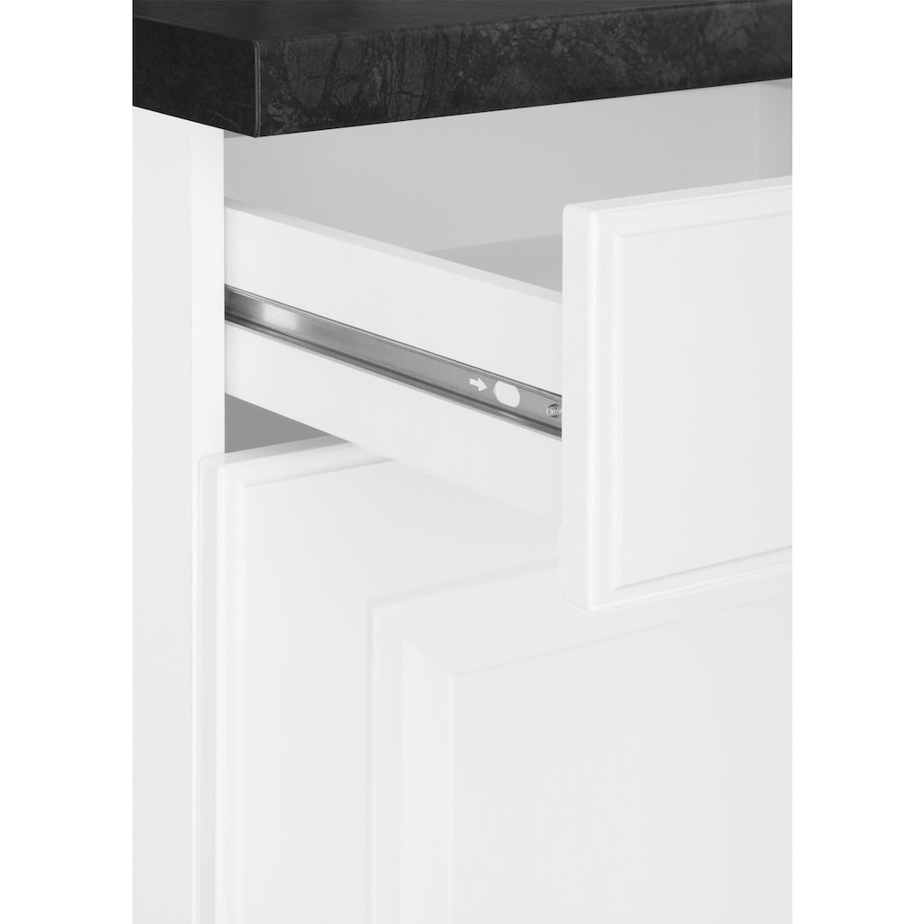 wiho Küchen Küchenzeile »Erla«, ohne E-Geräte, Breite 310 cm