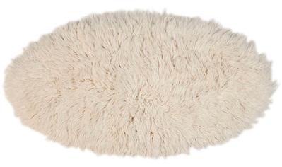 Wollteppich, »Flokos 2«, Theko Exklusiv, rund, Höhe 70 mm, handgewebt kaufen