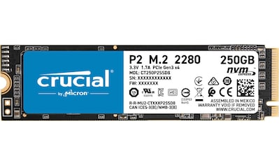Crucial »P2 SSD 250GB, CT250P2SSD8 PCIe M.2 NVME« SSD kaufen