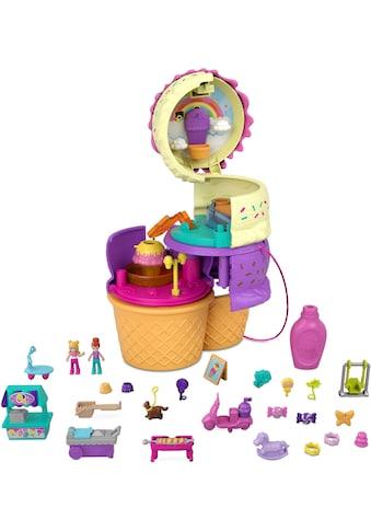 Mattel® Spielwelt »Polly Pocket, Ausklappspaß-Schatulle Eiswaffel« kaufen