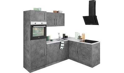 wiho Küchen Winkelküche »Cali«, ohne E - Geräte, Stellbreite 230 x 170 cm kaufen