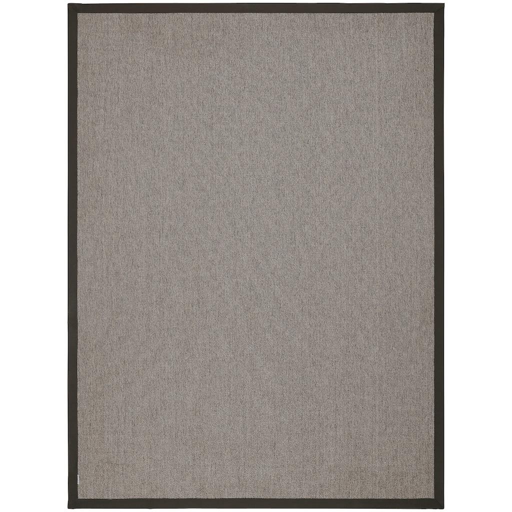 Dekowe Teppich »Naturino Rips, Wunschmaß«, rechteckig, 7 mm Höhe, Flachgewebe, Sisal-Optik, In- und Outdoor geeignet, Wohnzimmer