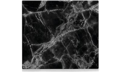 Zeller Present Herdblende-/Abdeckplatte »Marmor«, Silikonfüßen kaufen