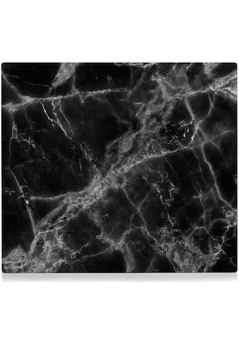 Zeller Present Herdblende-/Abdeckplatte »Marmor«, (1 tlg.), Silikonfüßen kaufen