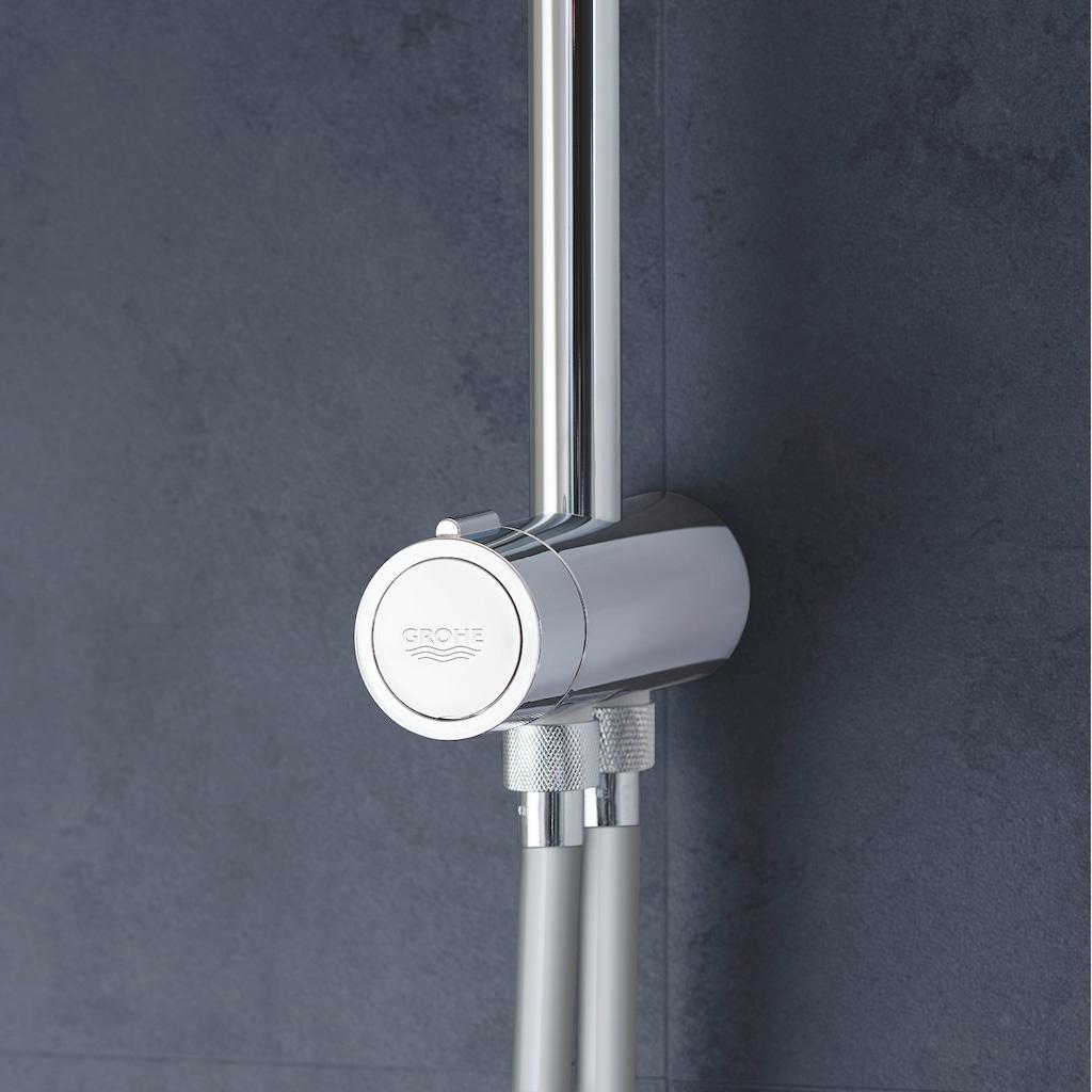 Grohe Brausegarnitur »Tempesta System 210 Flex«, für Wandmontage, mit Umstellung