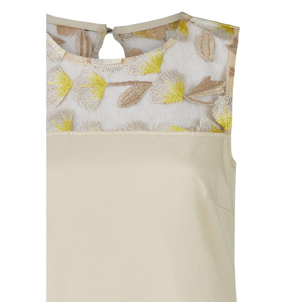 Daniel Hechter Elegantes Kleid mit floraler Spitze