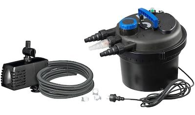 UBBINK Set: Druckfilter »BioPressure II 3000 Plus«, 3.000 l/h, inkl. UV - C Gerät und Teichpumpe kaufen