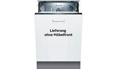 Constructa vollintegrierbarer Geschirrspüler, 11,7 Liter, 12 Maßgedecke kaufen