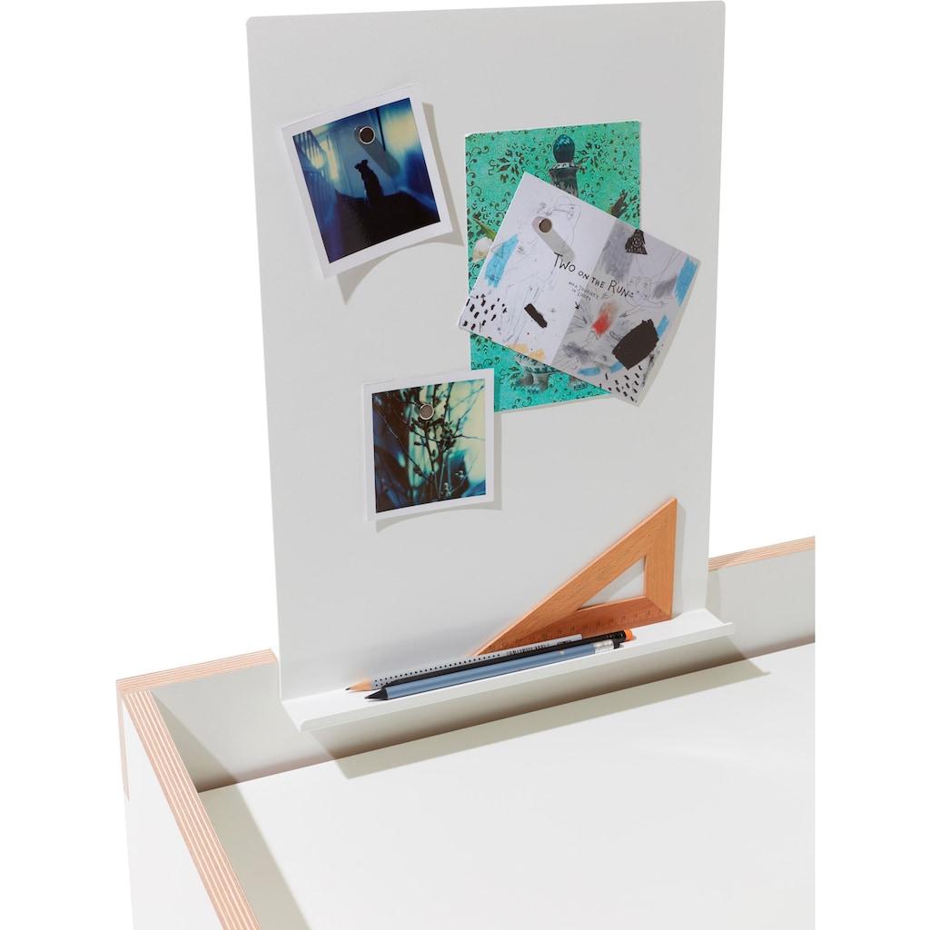 Müller SMALL LIVING Magnettafel »FLAI Magnetboard mit Ablage«, geeignet für Kanten mit 18 mm Materialstärke
