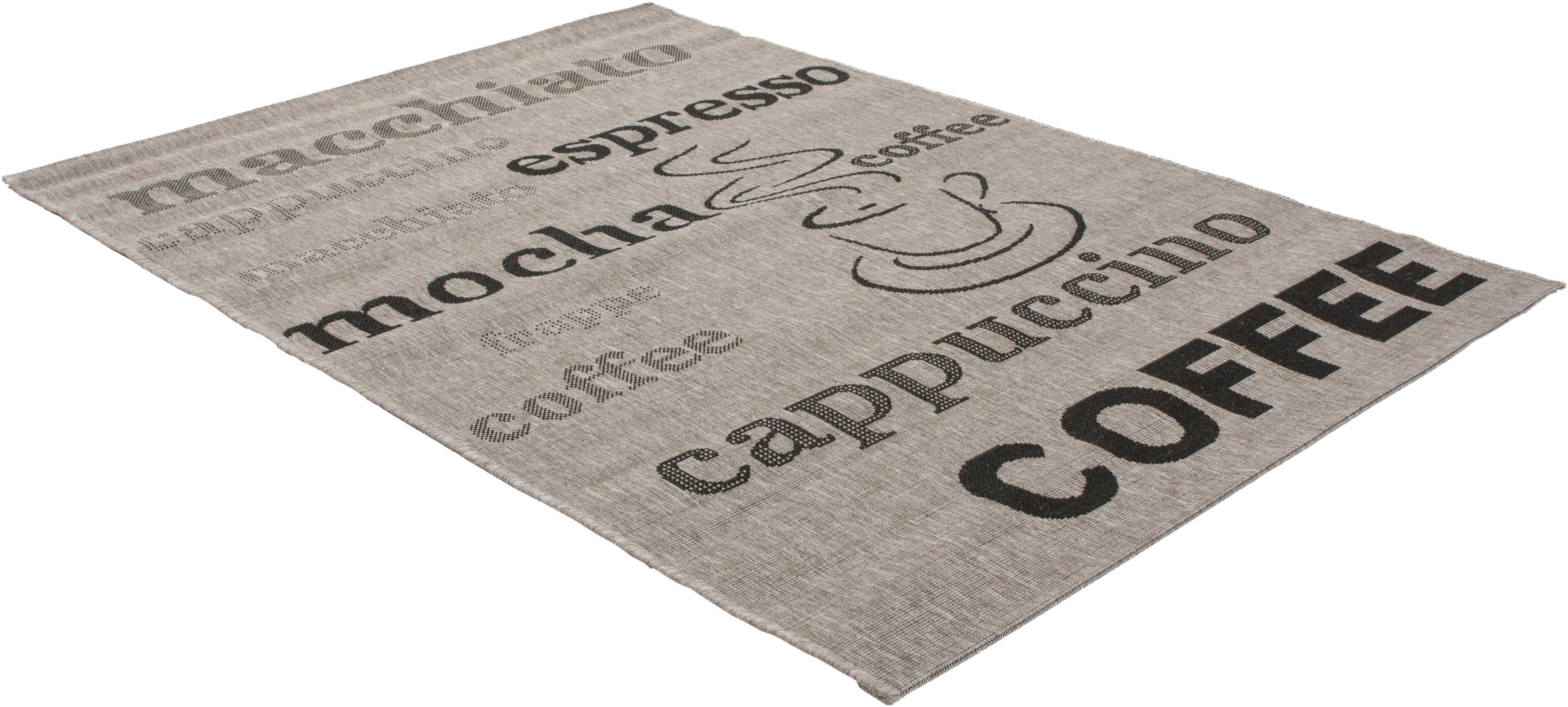 Teppich Trejo 610 calo-deluxe rechteckig Höhe 5 mm maschinell gewebt
