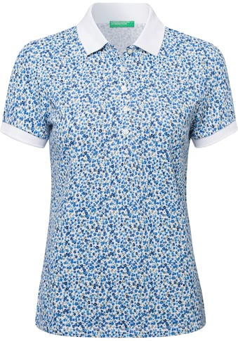 United Colors of Benetton Poloshirt, mit Anker Minimal-Print kaufen