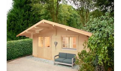 WOLFF FINNHAUS Gartenhaus »Lappland 70 - B«, BxT: 580x640 cm, inkl. Fußboden kaufen