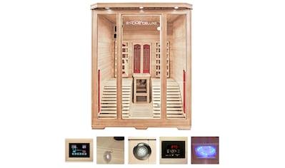 HOME DELUXE Infrarotkabine »Maui«, BxTxH: 150x150x190 cm, für 2 Personen kaufen