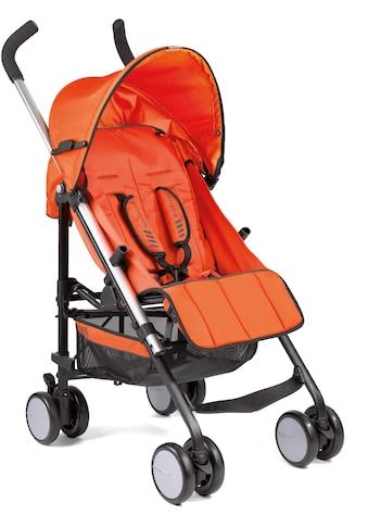 Gesslein Kinder-Buggy »S5 4+4, Orange«, mit schwenkbaren Vorderrädern; Kinderwagen,... kaufen